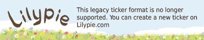 Lilypieth 6thBirthday Ticker
